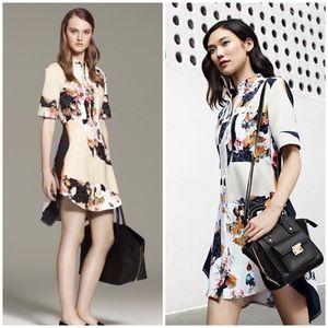 EUC 3.1 Phillip Lim x Target Floral Shirt Dress XL
